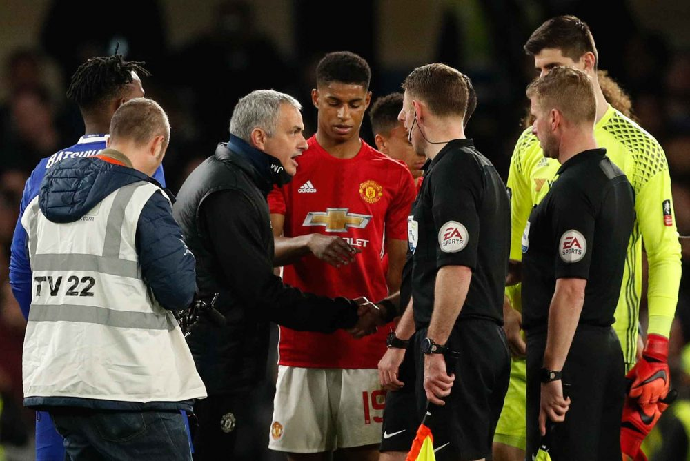 If Manchester United Can Be Charged Because Their Players Surrounded The Referee, Why Can't The Referee Be Charged With Being A Chelsea Supporter?